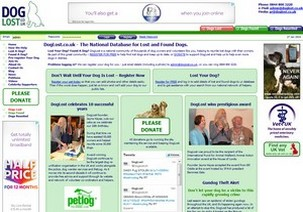 Web design and development for the UK's largest, multi-award-winning, lost pet rescue community