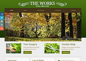 Website for a Newport tree surgeon